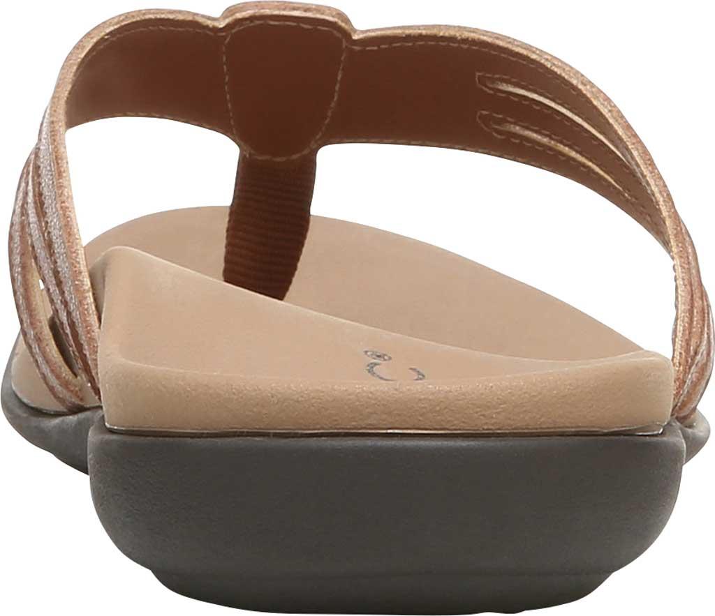 Women's Vionic Alta Thong Sandal, Espresso Leather, large, image 4