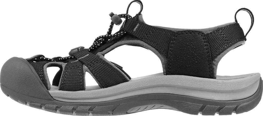 Women's Keen Venice H2 Outdoor Sandal, Black/Neutral Gray, large, image 3