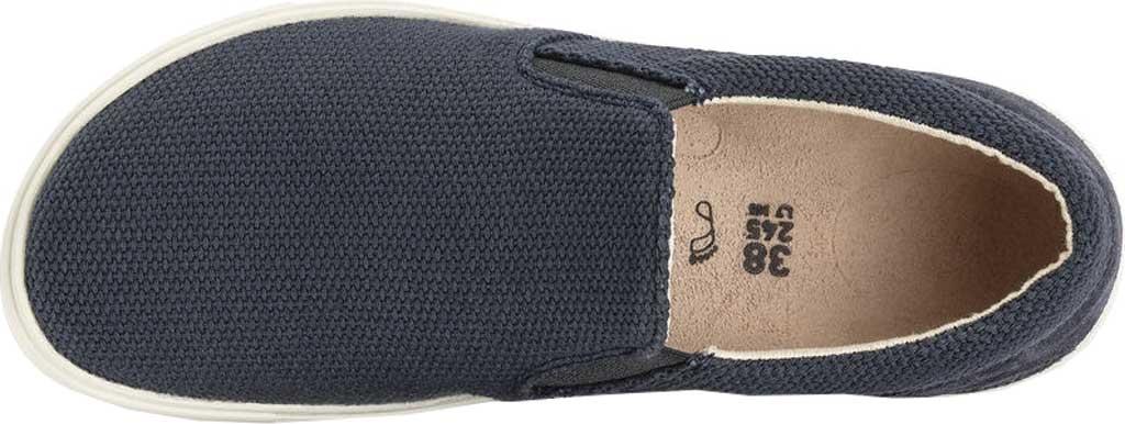 Women's Birkenstock Oswego Slip On Sneaker, Midnight Canvas, large, image 3
