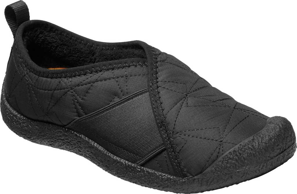Women's Keen Howser Wrap Sneaker, Black/Black, large, image 1