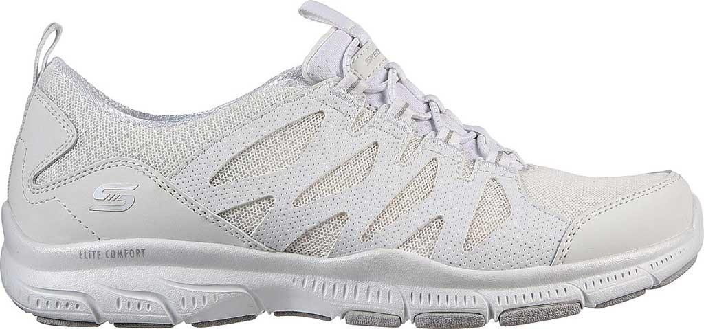 Women's Skechers Relaxed Fit Gratis Gratitude Slip On Sneaker, White, large, image 2