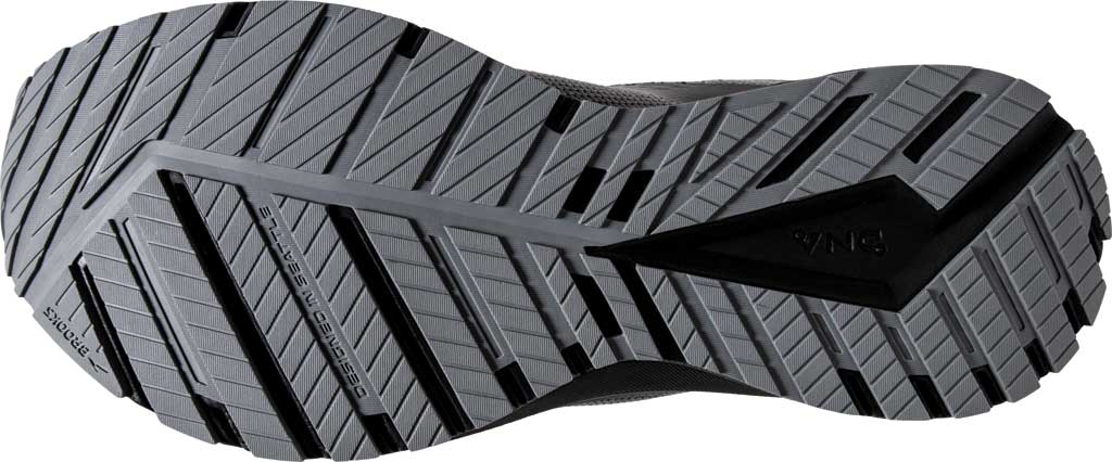 Men's Brooks Revel 4 Running Shoe, Grey/Blackened Pearl/Black, large, image 6