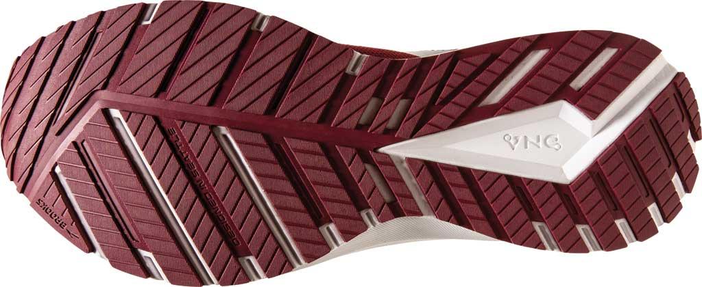 Men's Brooks Revel 4 Running Shoe, Maroon/White, large, image 6