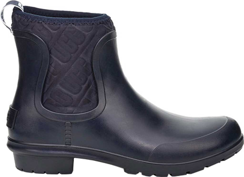 Women's UGG Chevonne Rain Boot, Navy PVC, large, image 1