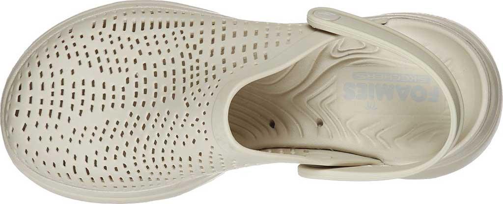 Women's Skechers Foamies GOwalk 5 Harmony Clog, Natural, large, image 5
