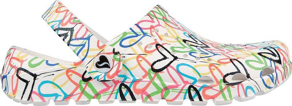 Women's Skechers x JGoldcrown: Footsteps - More Love, White/Multi, large, image 2