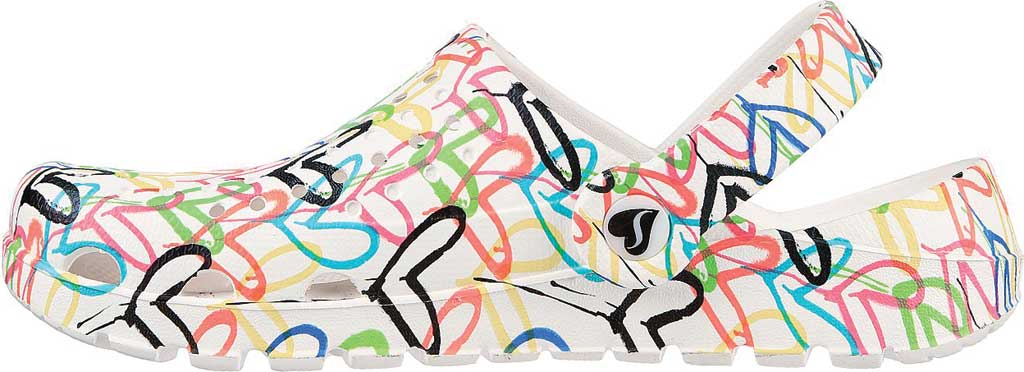 Women's Skechers x JGoldcrown: Footsteps - More Love, White/Multi, large, image 3