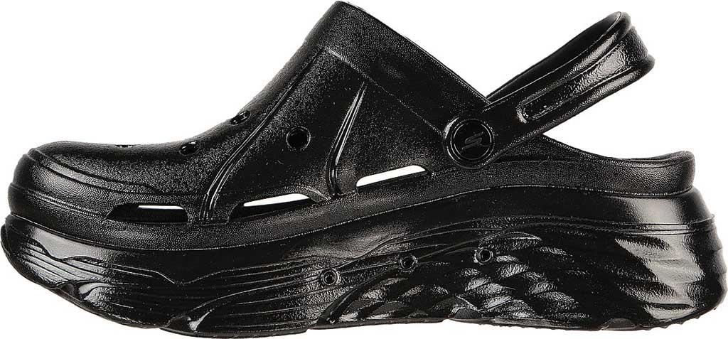 Women's Skechers Foamies Max Cushioning Show Off Clog, Black/Black, large, image 3