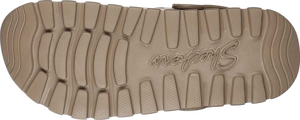 Women's Skechers Foamies Arch Fit Footsteps Pure Joy Clog, Taupe, large, image 5