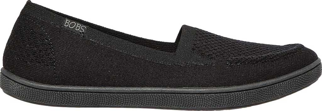 Women's Skechers BOBS B Cute Future Velvet Slip On Sneaker, Black, large, image 2