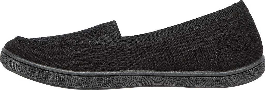 Women's Skechers BOBS B Cute Future Velvet Slip On Sneaker, Black, large, image 3