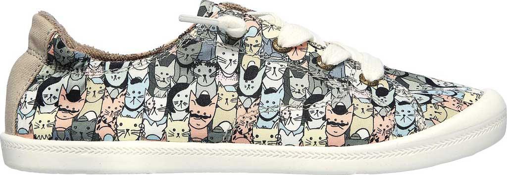 Women's Skechers BOBS Beach Bingo Mellow Cats Sneaker, Taupe/Multi, large, image 2