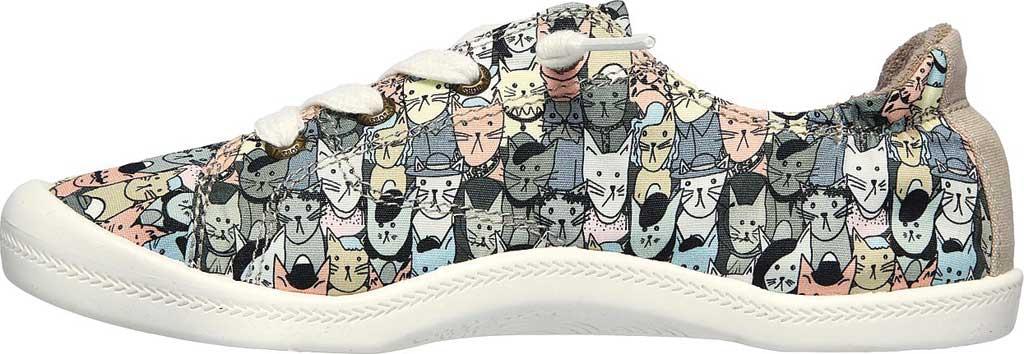 Women's Skechers BOBS Beach Bingo Mellow Cats Sneaker, Taupe/Multi, large, image 3