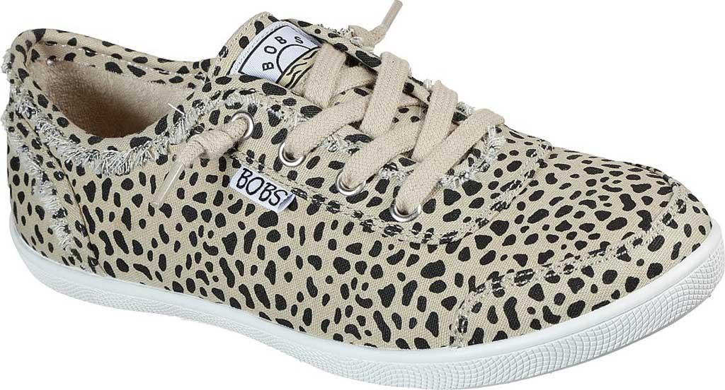 Women's Skechers BOBS B Cute Perrrsonality Vegan Slip On Sneaker, Leopard, large, image 1