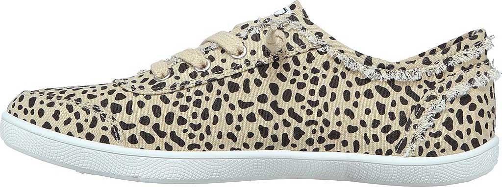 Women's Skechers BOBS B Cute Perrrsonality Vegan Slip On Sneaker, Leopard, large, image 3