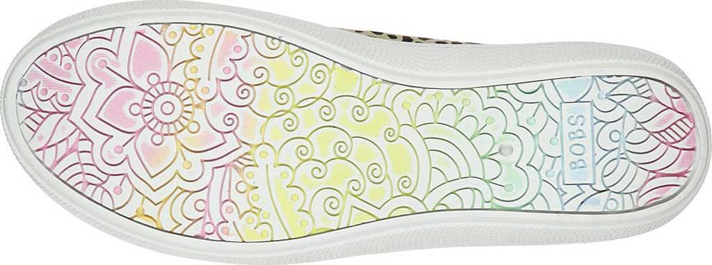 Women's Skechers BOBS B Cute Perrrsonality Vegan Slip On Sneaker, Leopard, large, image 5