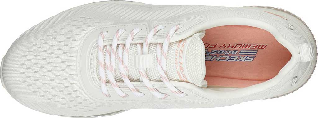Women's Skechers BOBS Gamma Sneaker, White, large, image 5