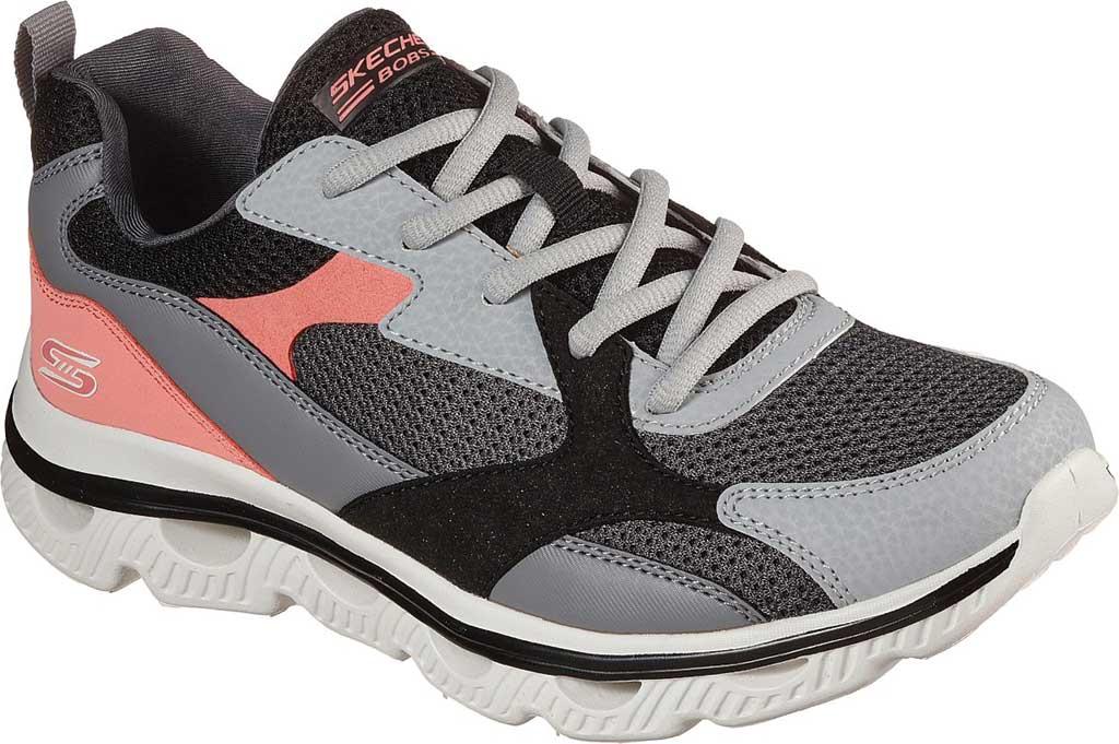 Women's Skechers BOBS Sport Arc Waves Glide & Fly Sneaker, Gray/Multi, large, image 1