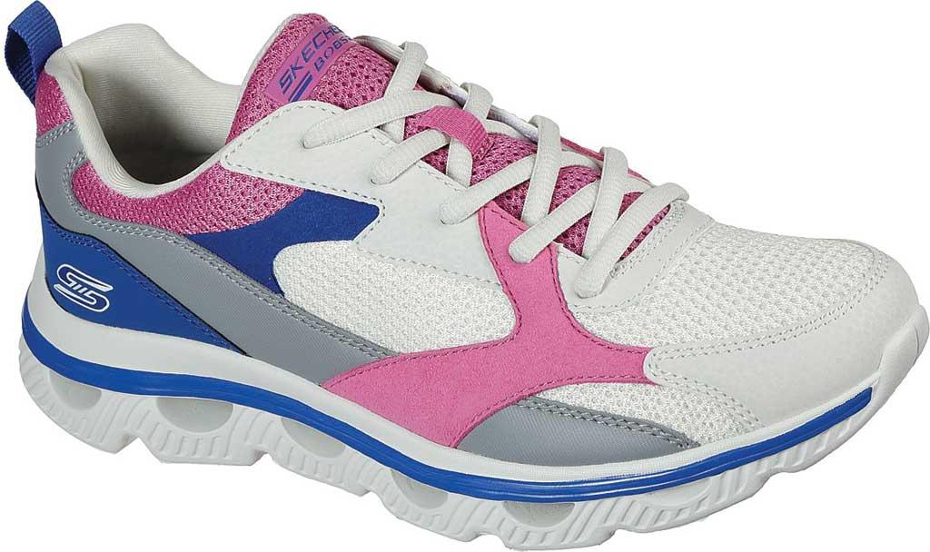 Women's Skechers BOBS Sport Arc Waves Glide & Fly Sneaker, White/Multi, large, image 1