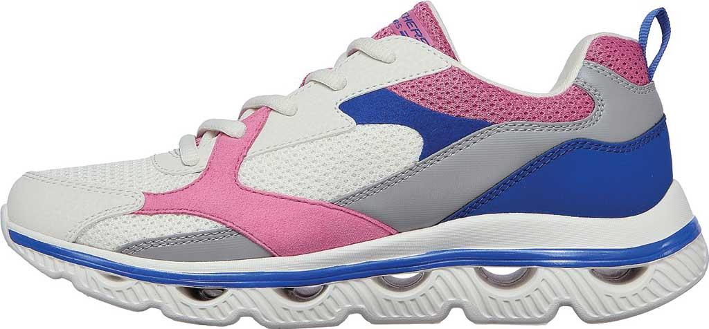 Women's Skechers BOBS Sport Arc Waves Glide & Fly Sneaker, White/Multi, large, image 3