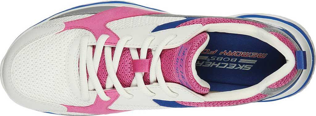 Women's Skechers BOBS Sport Arc Waves Glide & Fly Sneaker, White/Multi, large, image 4