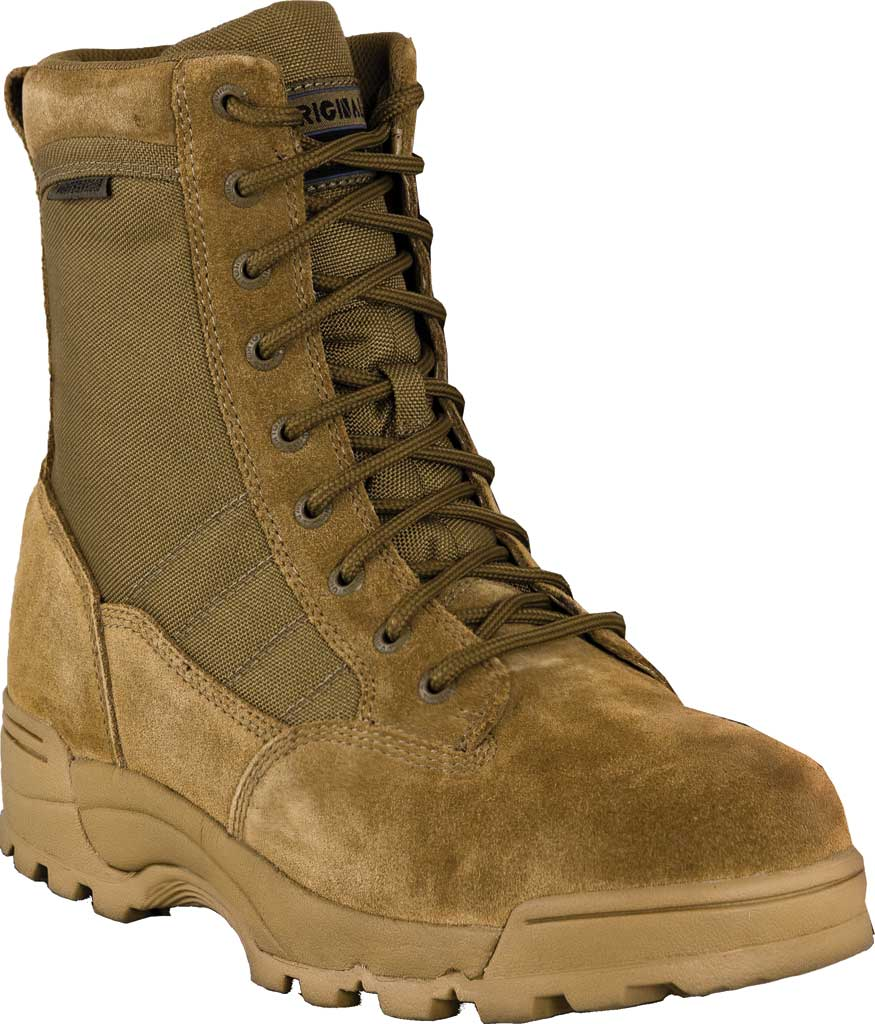 "Men's Original S.W.A.T. Classic 9"" Waterproof Boot, Coyote Suede/Cordura 1000 Denier Nylon, large, image 1"