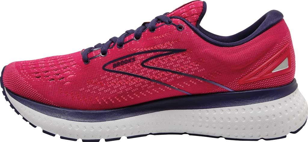 Women's Brooks Glycerin 19 Running Sneaker, Barberry/Purple/Calypso, large, image 3