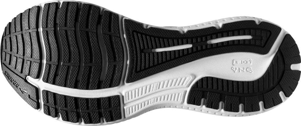 Women's Brooks Glycerin GTS 19 Running Sneaker, Black/White, large, image 6