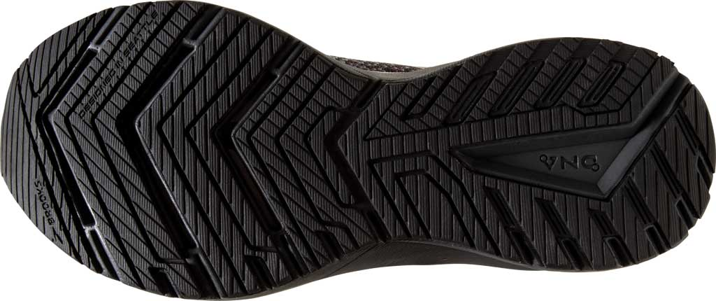 Women's Brooks Ricochet 3 Running Sneaker, Grey/Black/Rose Gold, large, image 6