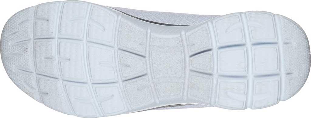 Women's Skechers Summits Sneaker, White/Silver, large, image 5