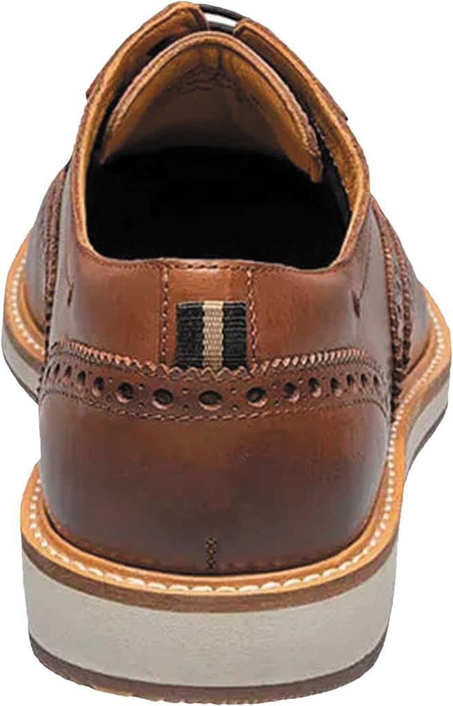 Men's Florsheim Manhattan Wingtip Oxford, Cognac Smooth Leather, large, image 5