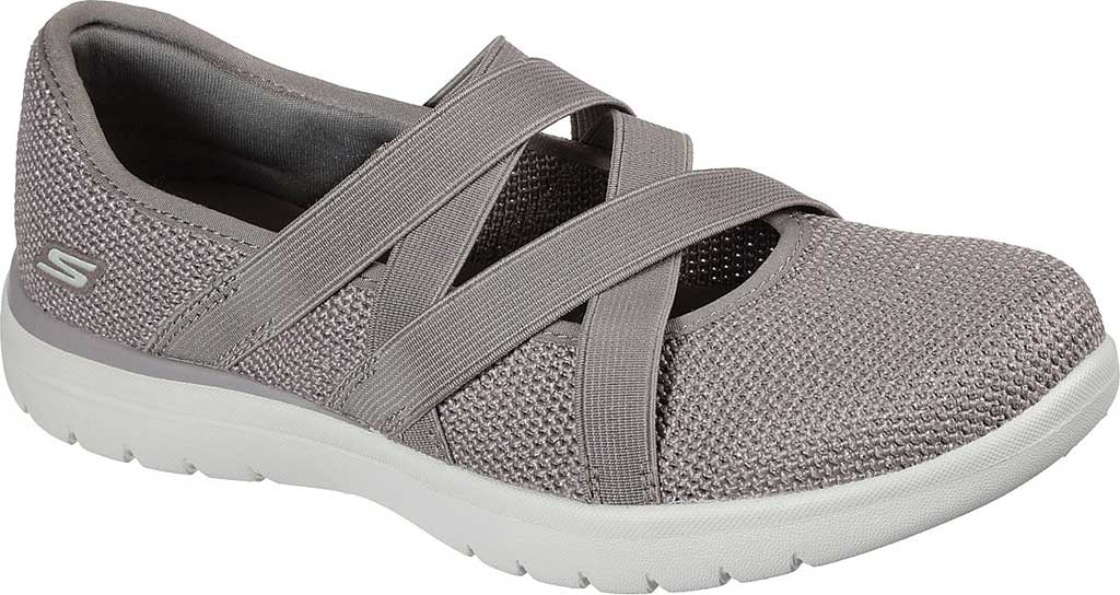 Women's Skechers On-the-GO Flex - Renewed, Taupe, large, image 1
