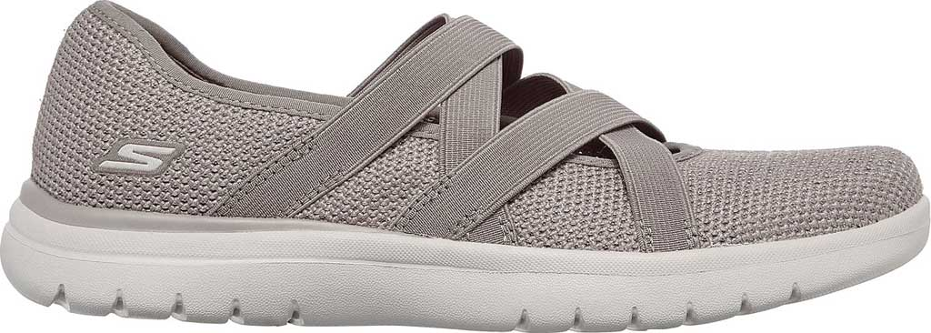 Women's Skechers On-the-GO Flex - Renewed, Taupe, large, image 2