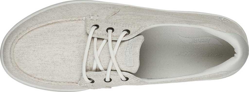 Women's Skechers Arch Fit Uplift Equator Vegan Sneaker, Taupe, large, image 4