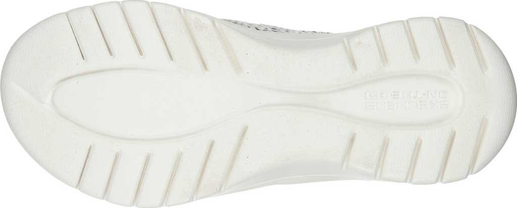 Women's Skechers On The GO Flex Accent Flip Flop, White/Black, large, image 5