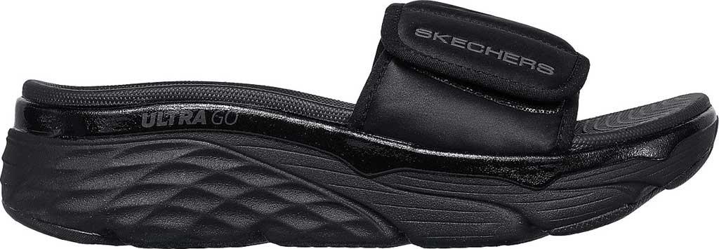 Women's Skechers Max Cushioning - Exclusive, Black/Black, large, image 2