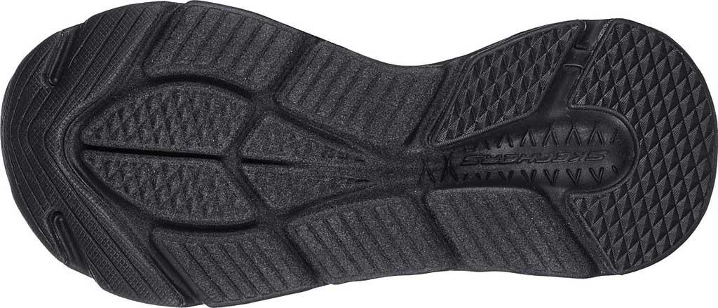 Women's Skechers Max Cushioning - Exclusive, Black/Black, large, image 5