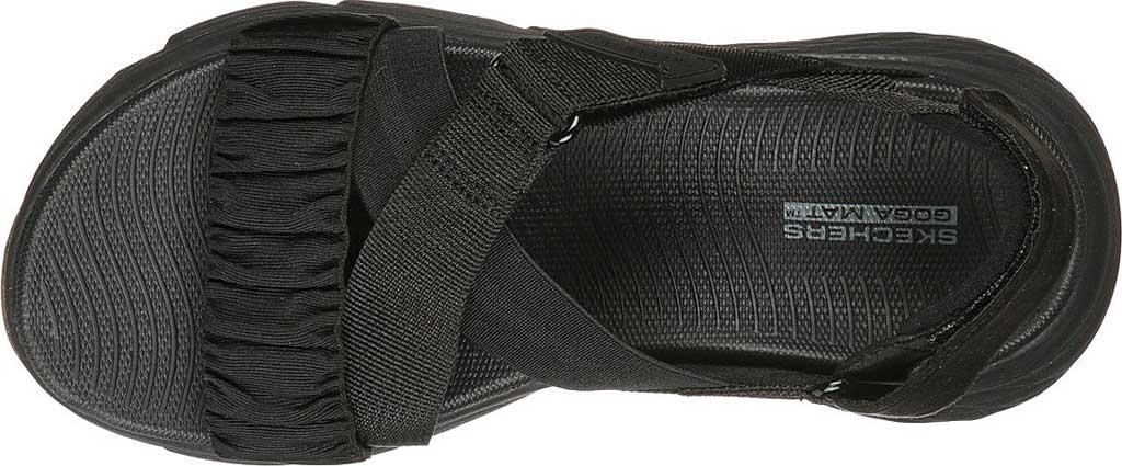 Women's Skechers Max Cushioning - Prosper, Black/Black, large, image 4