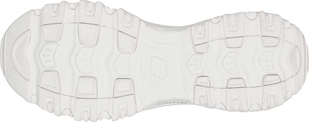 Women's Skechers D'Lites Floral Motion Sneaker, White, large, image 5