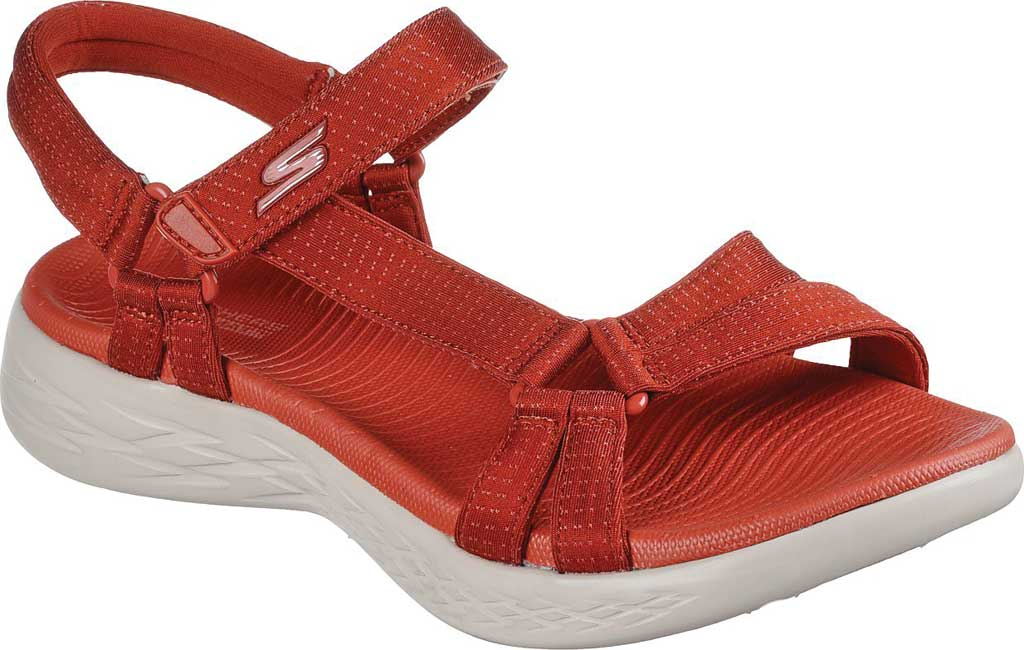 Women's Skechers On the GO 600 Brilliancy Strappy Sandal, , large, image 1