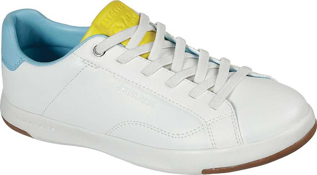 Women's Skechers C-Lites Blocked Party Sneaker, White/Multi, large, image 1