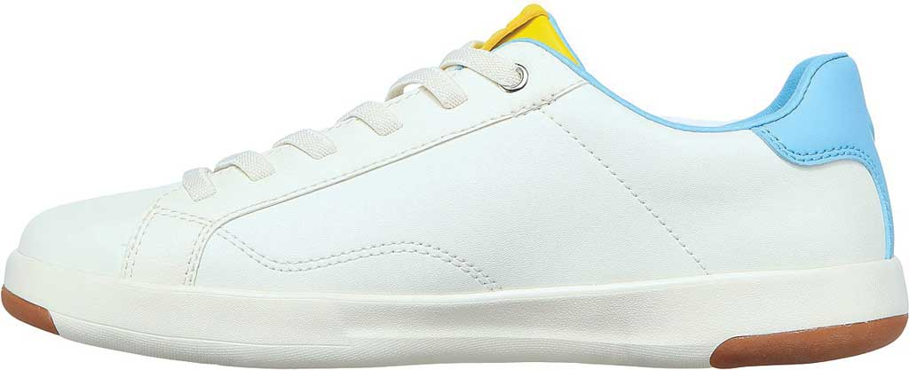 Women's Skechers C-Lites Blocked Party Sneaker, White/Multi, large, image 3