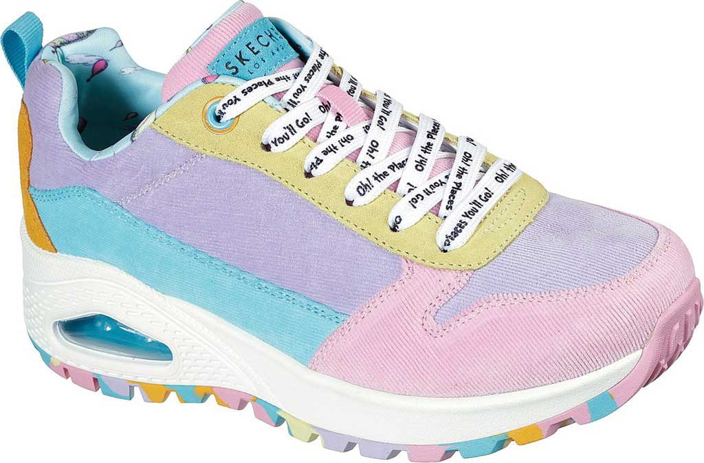 Women's Skechers Dr. Seuss Uno Rugged High Heights Sneaker, Multi, large, image 1
