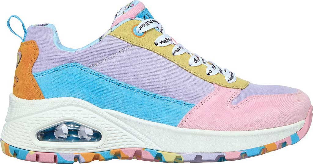 Women's Skechers Dr. Seuss Uno Rugged High Heights Sneaker, Multi, large, image 2