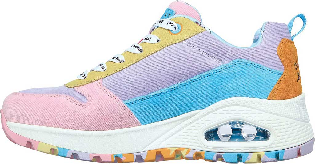 Women's Skechers Dr. Seuss Uno Rugged High Heights Sneaker, Multi, large, image 3