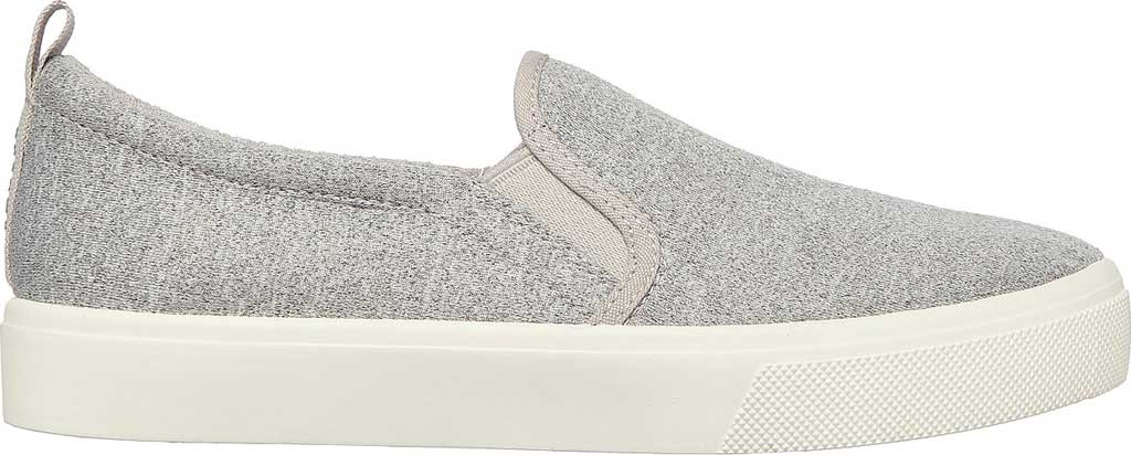 Women's Skechers Poppy Lite Shadez Slip On Sneaker, Gray, large, image 2