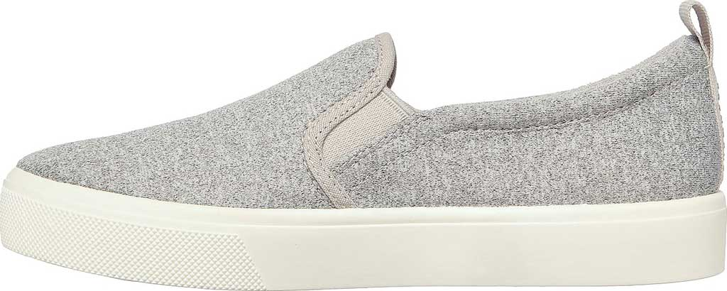 Women's Skechers Poppy Lite Shadez Slip On Sneaker, Gray, large, image 3