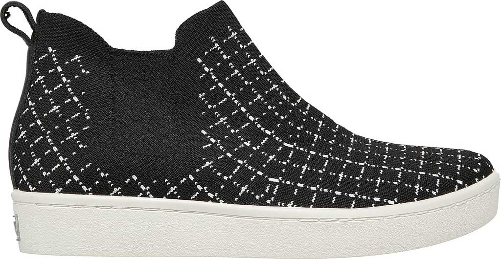 Women's Skechers Arch Fit Cup High Top Sneaker, Black/White, large, image 2
