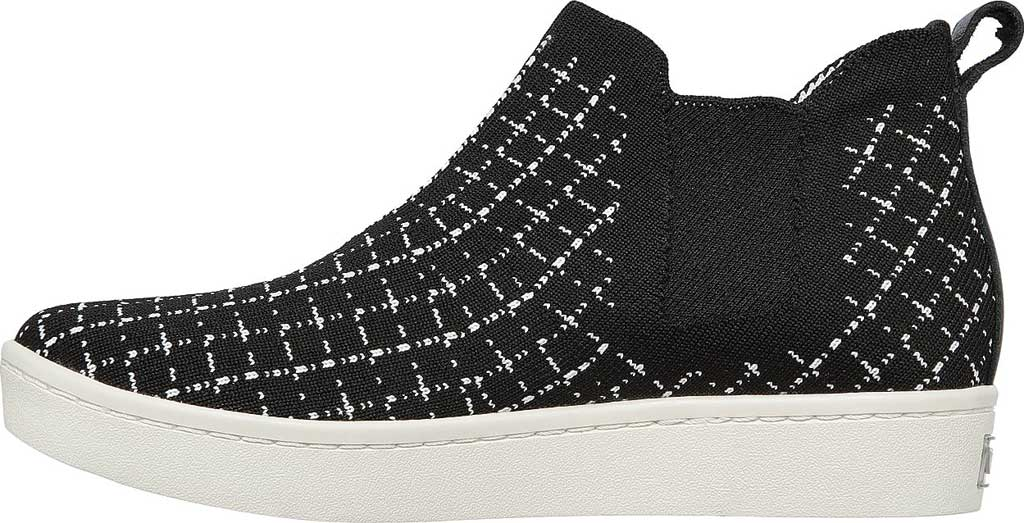 Women's Skechers Arch Fit Cup High Top Sneaker, Black/White, large, image 3