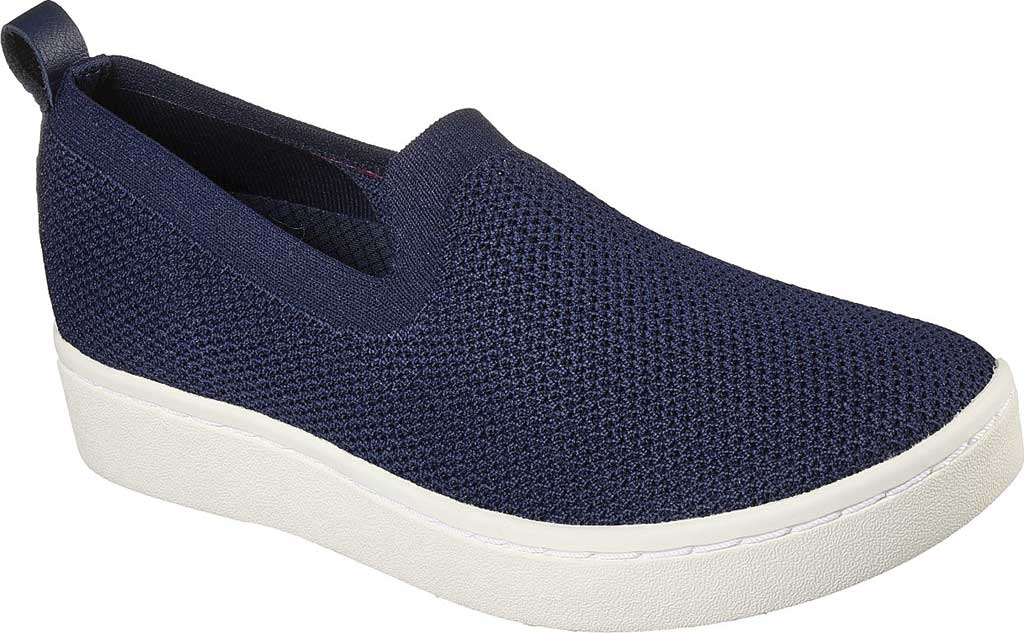 Women's Skechers Arch Fit Cup Homesick Slip On Sneaker, Navy, large, image 1
